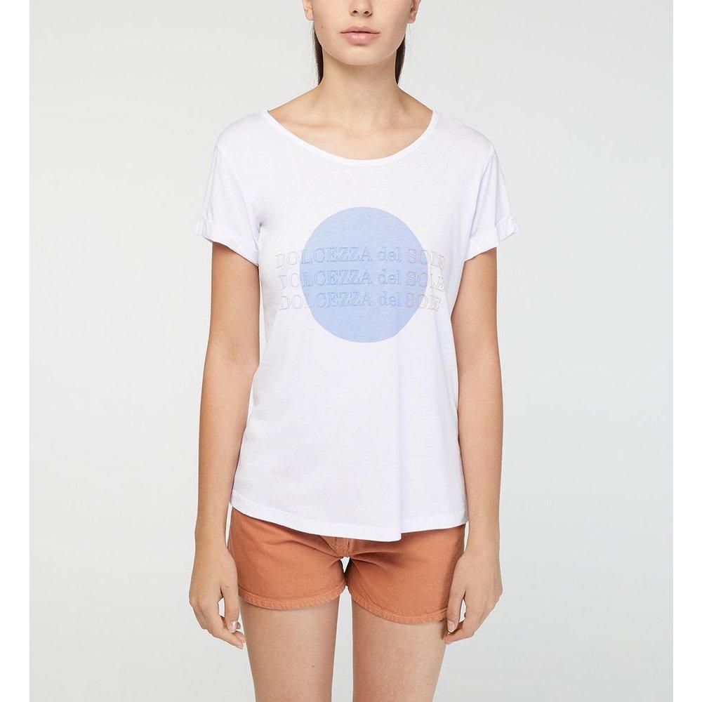 T-shirt Alabama Droit Lettrage - GALERIES LAFAYETTE - Modalova