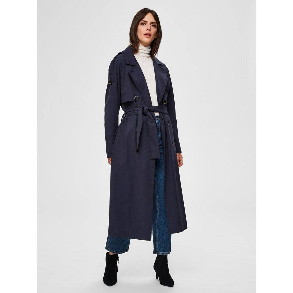 Trench Double boutonnage TENCEL™  - Selected Femme - Modalova