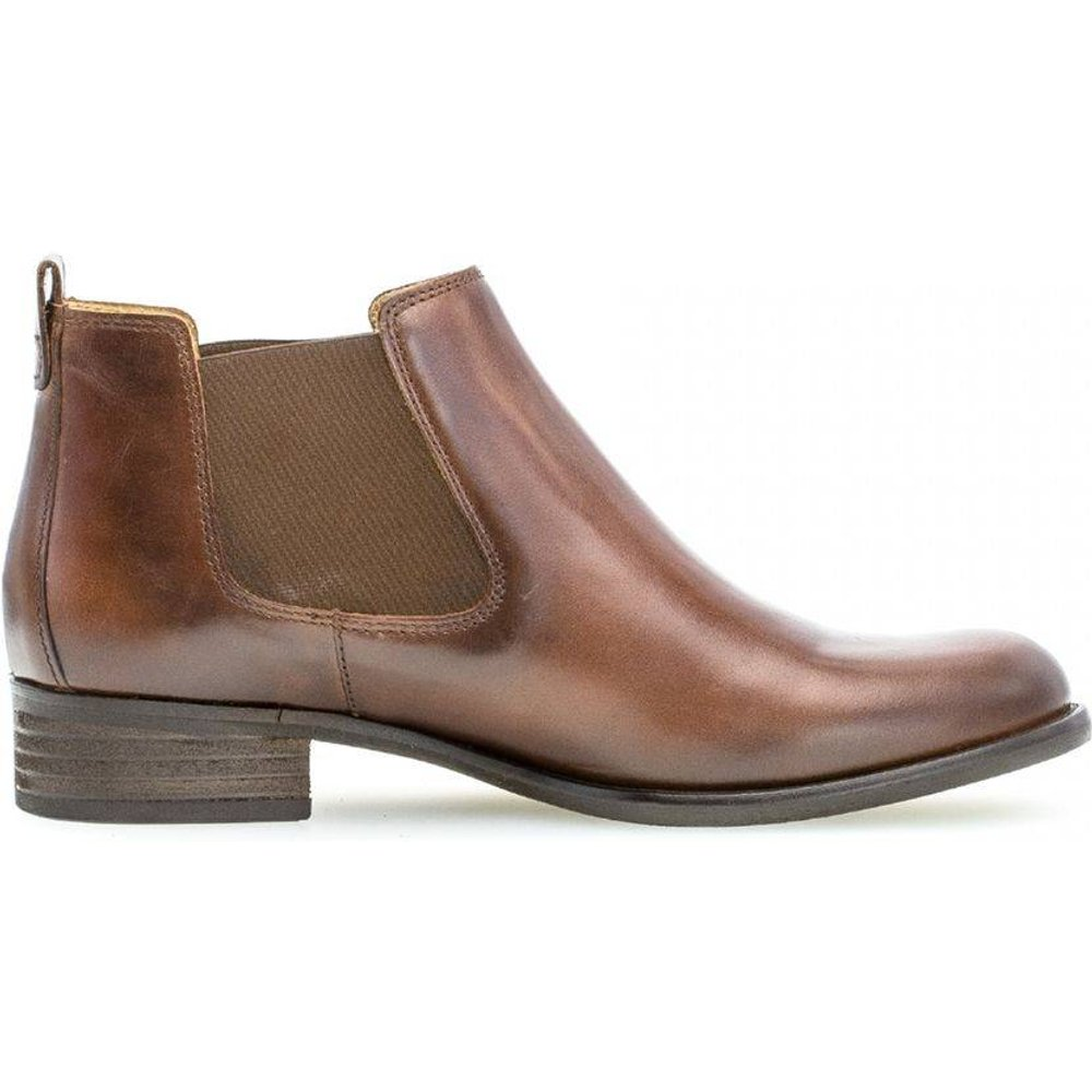 Boots cuir talon façon block - Gabor - Modalova