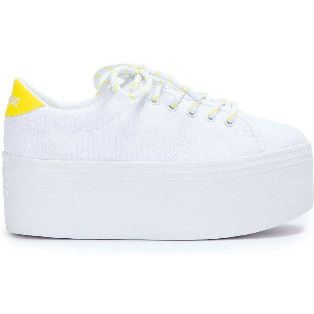 Baskets PLATO L SNEAKER - WHITE FLUO - NO NAME - Modalova