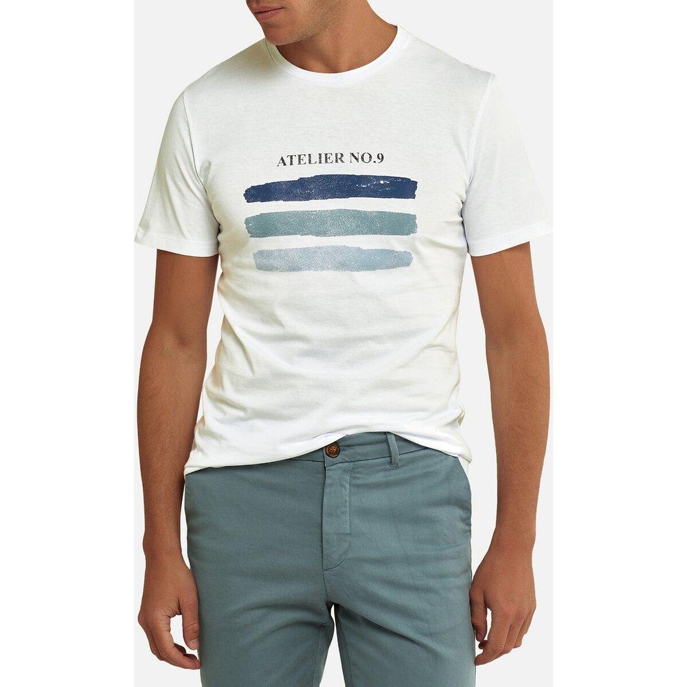 T-shirt col rond, manches courtes imprimé devant - LA REDOUTE COLLECTIONS - Modalova