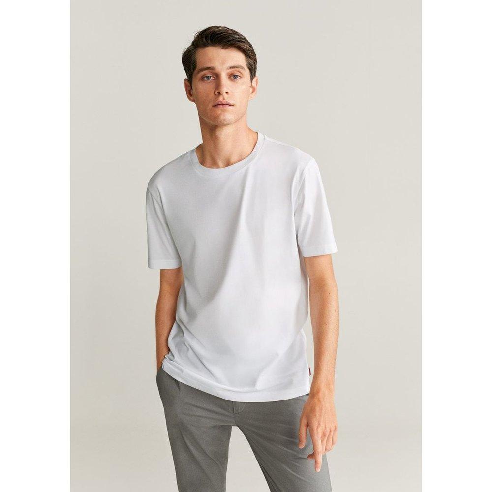 T-shirt coton durable - mango man - Modalova