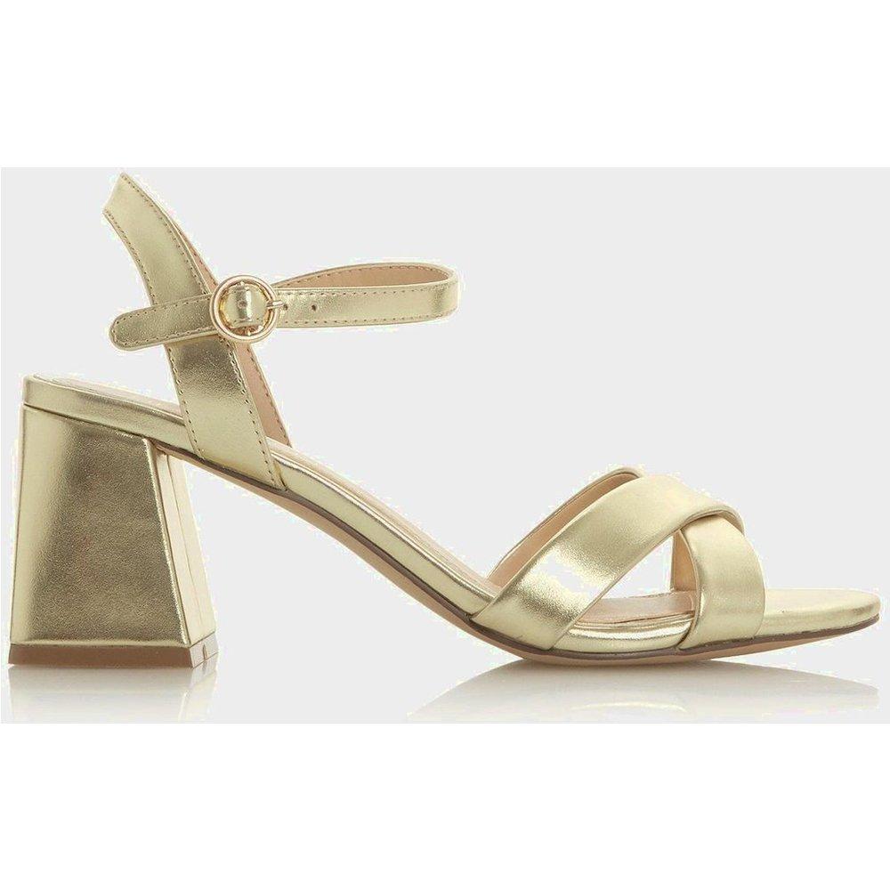 Sandales à mi-talons carrés - MONI - Head Over Heels by Dune - Modalova