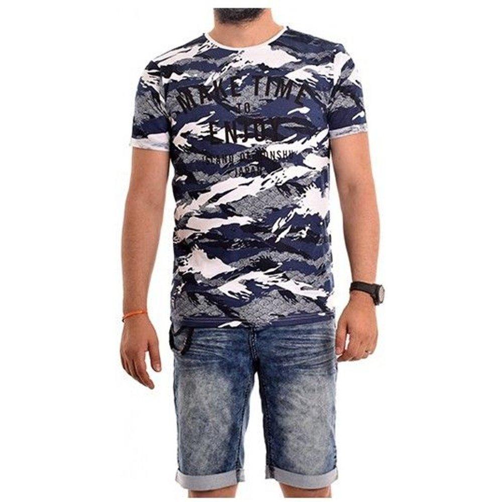 T-shirt Col Rond Nartoon - RITCHIE - Modalova