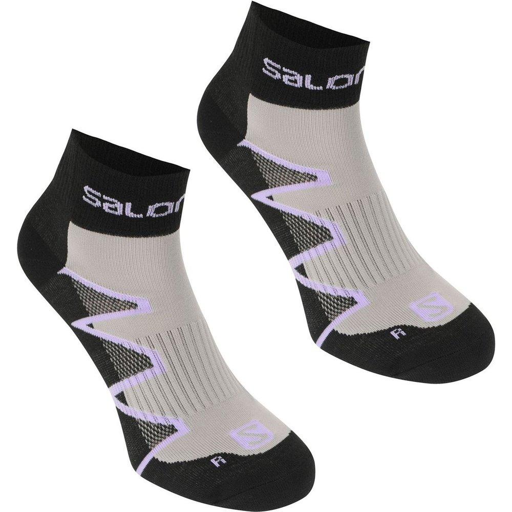 Chaussettes de running lot de 2 paires - Salomon - Modalova
