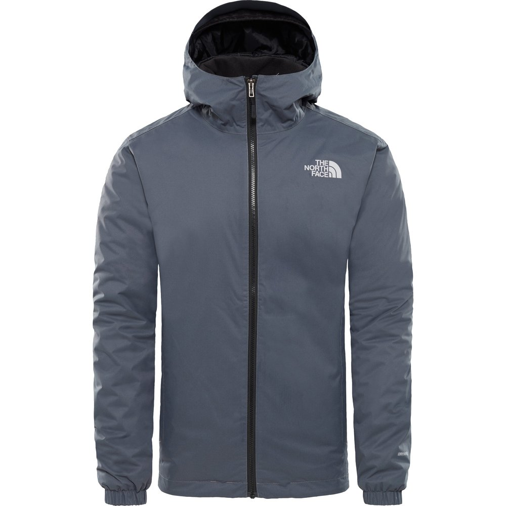 Mens The North Face Quest Insulated Jacket -  Grey