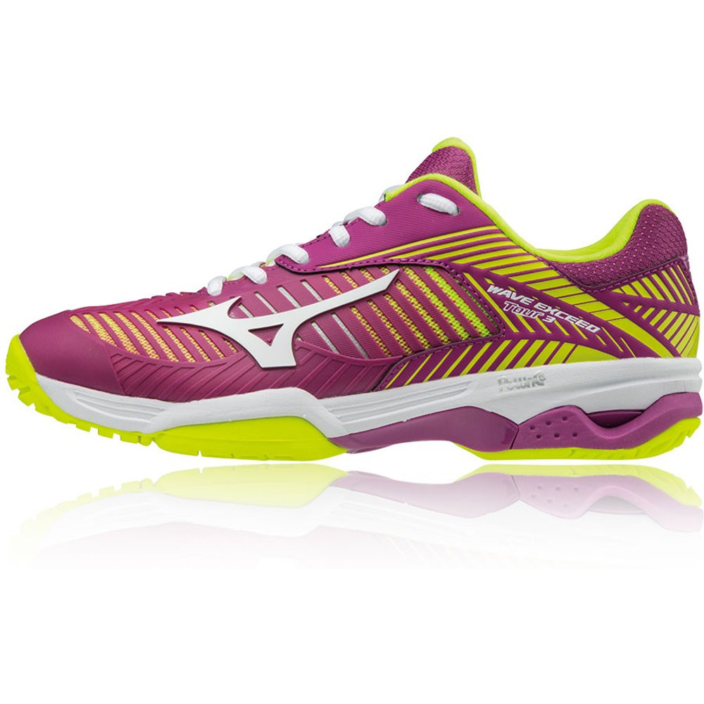 Wave Exceed Tour 3 Women's All Court Tennis Shoes - Mizuno - Modalova