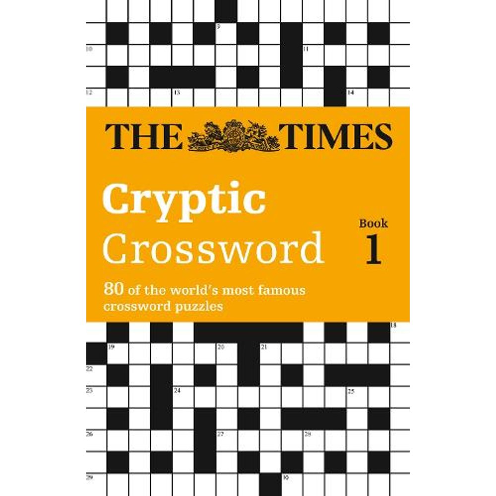 The Times Cryptic Crossword Book 1
