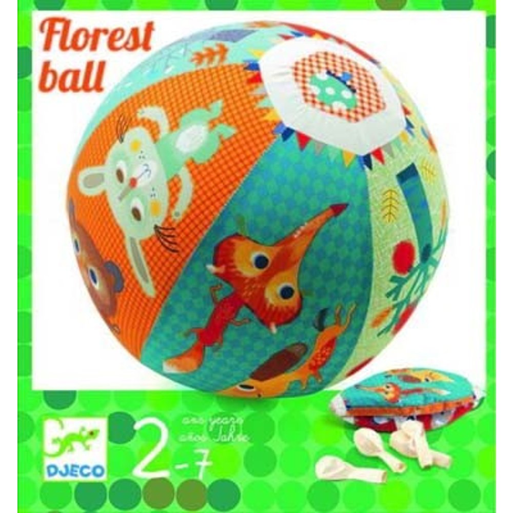 Djeco Action Games and Reflections Skill Games Forest Ball Skill Set, Multicolor DJ02053