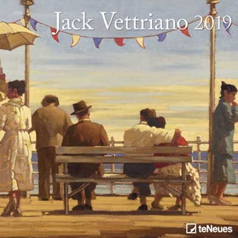 2019 Jack Vettriano Wall Calendar