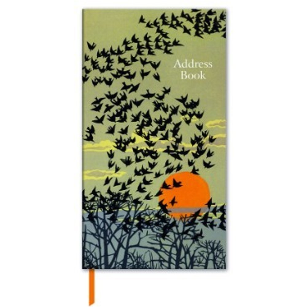 Slimline Address Book - Aerial Manoeuvres Design