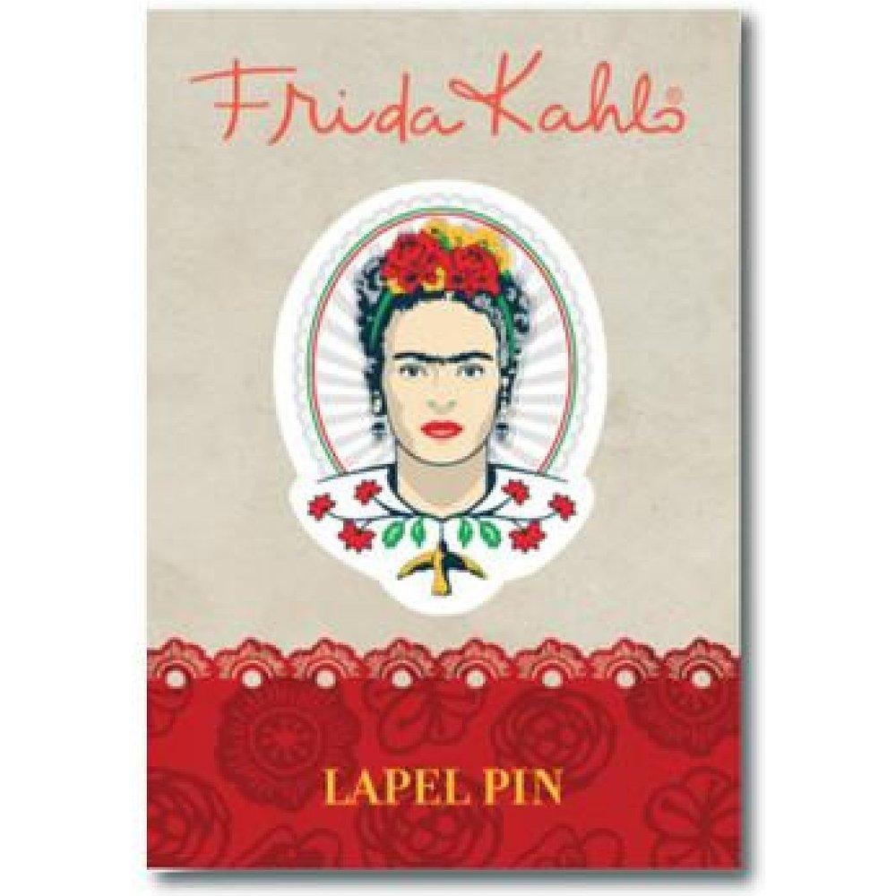 Frida Kahlo Head Pin Badge
