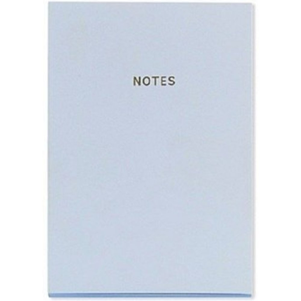 Candy Blue Notebook