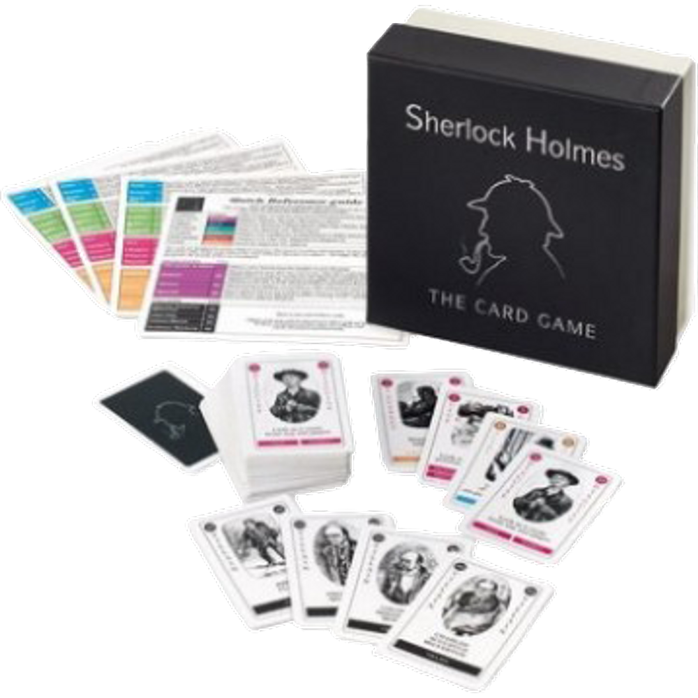 Sherlock Holmes Card Game