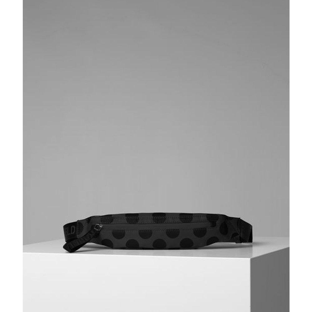 PETIT SAC BANANE À POIS KARL - Karl Lagerfeld - Modalova