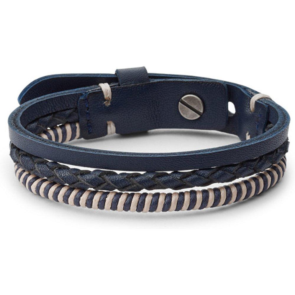 Men Bracelet Vintage Casual Multi-Rangs - One size - Fossil - Modalova