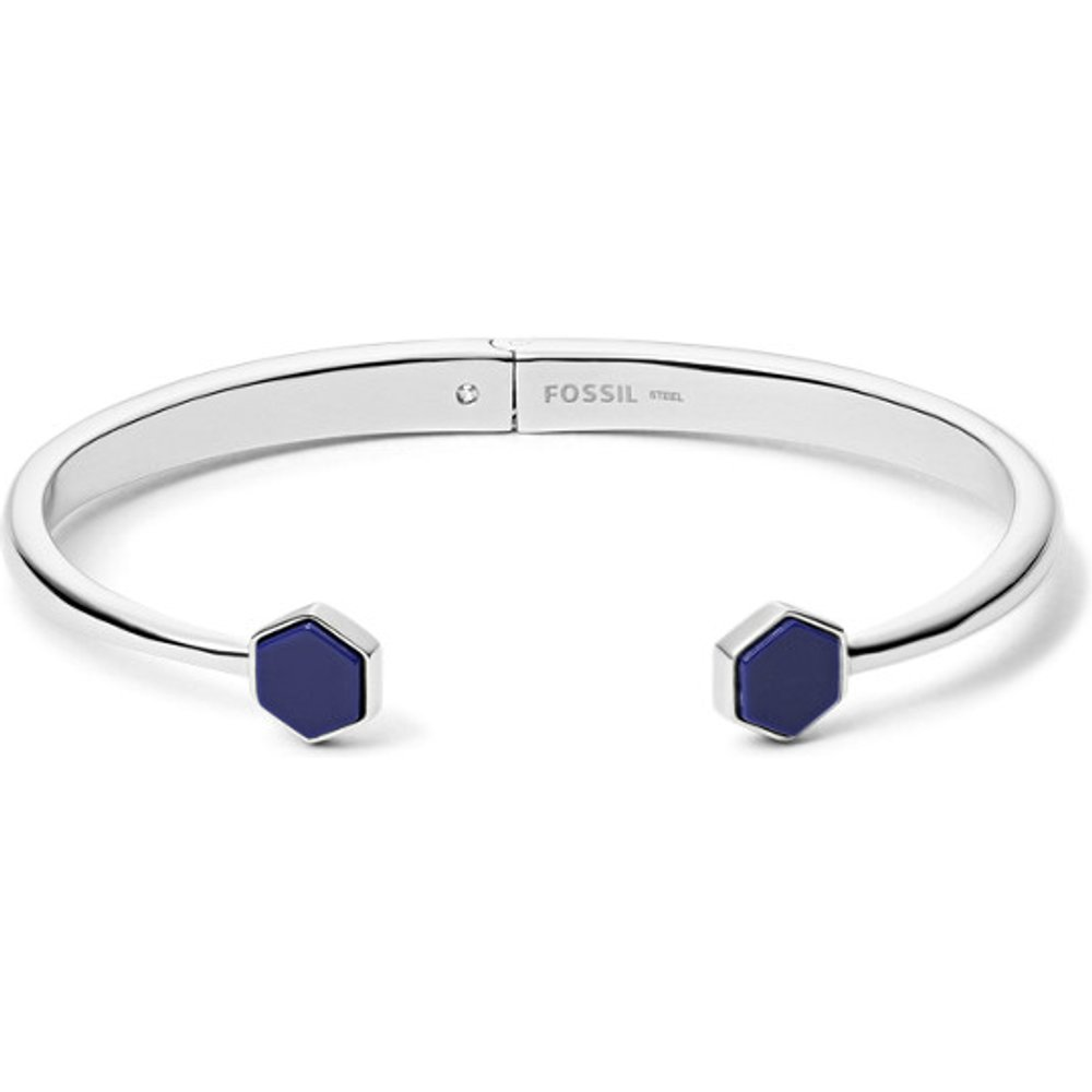 Unisex Bracelet En Acier Inoxydable Argenté - One size - Fossil - Modalova