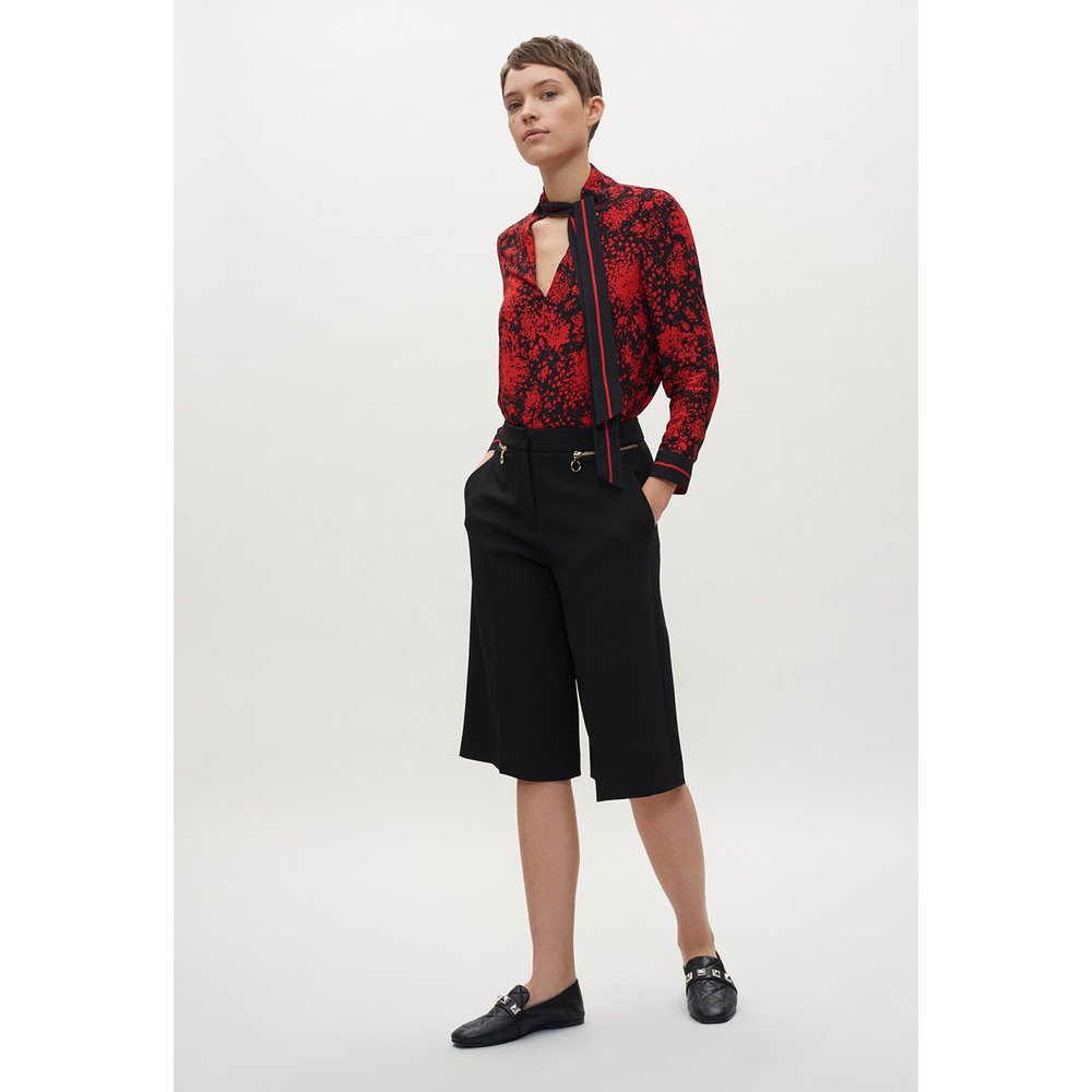 Jupe-culotte noire - Claudie Pierlot - Modalova