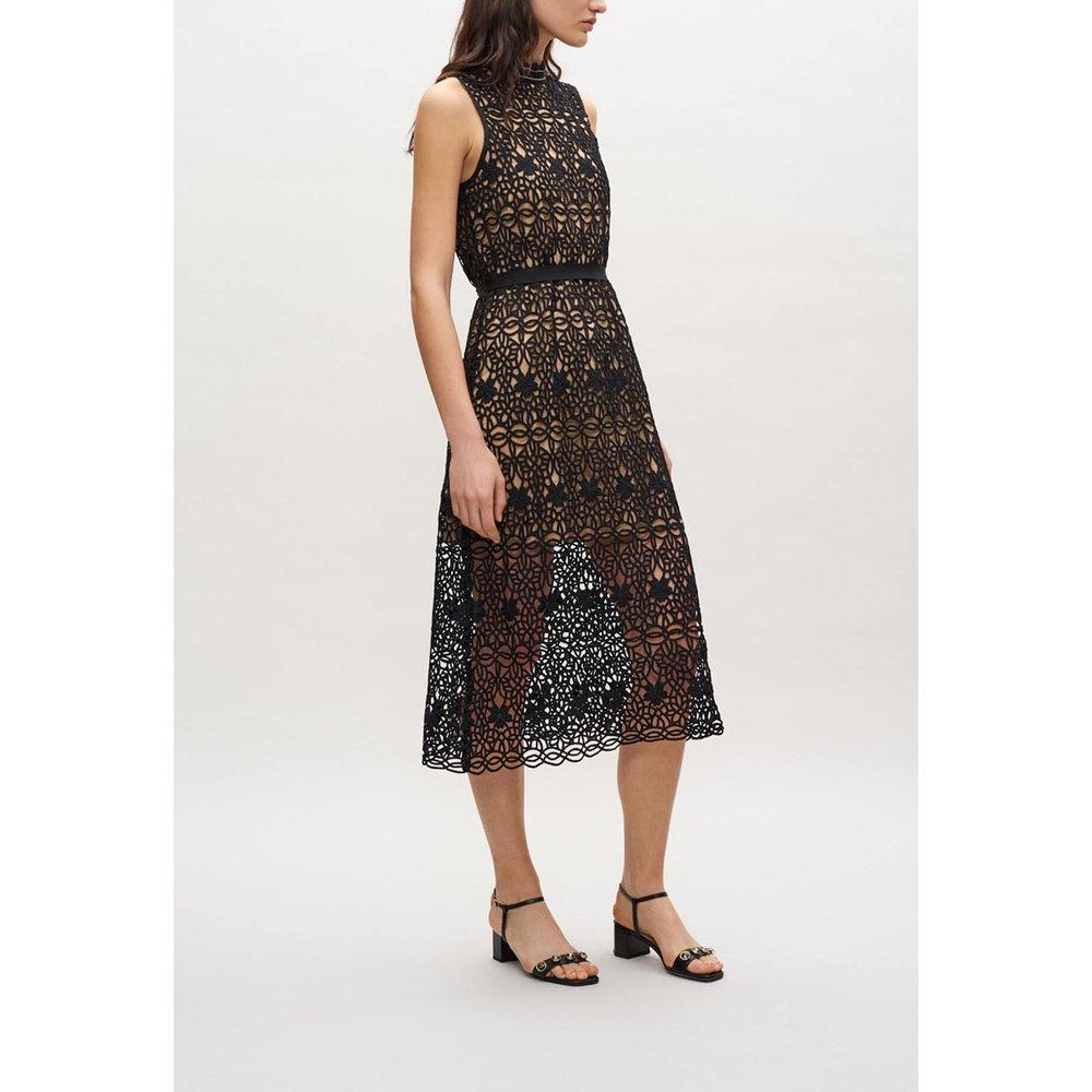 Robe sans manches en crochet - Claudie Pierlot - Modalova
