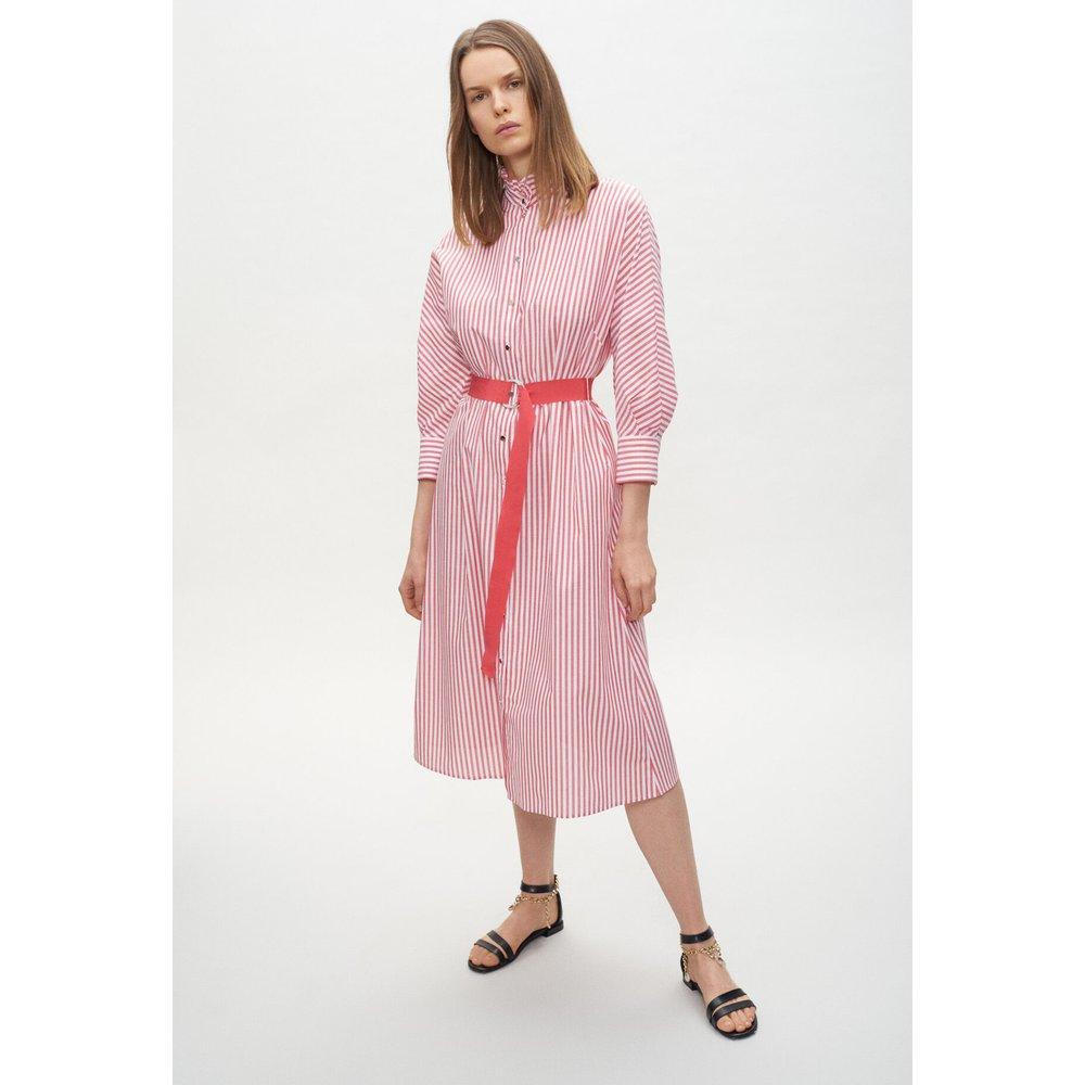 Robe chemise ceinturée - Claudie Pierlot - Modalova
