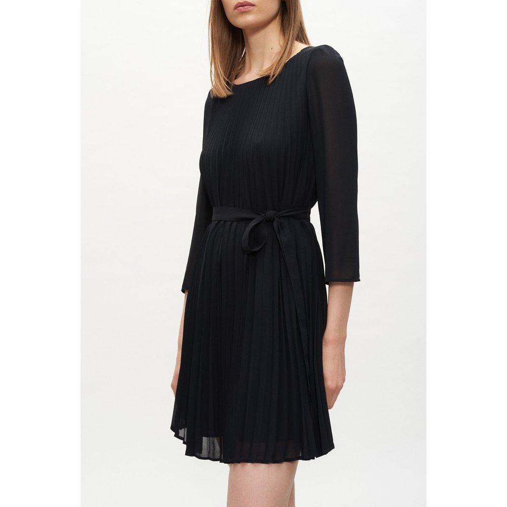 Robe courte évasée et plissée - Claudie Pierlot - Modalova