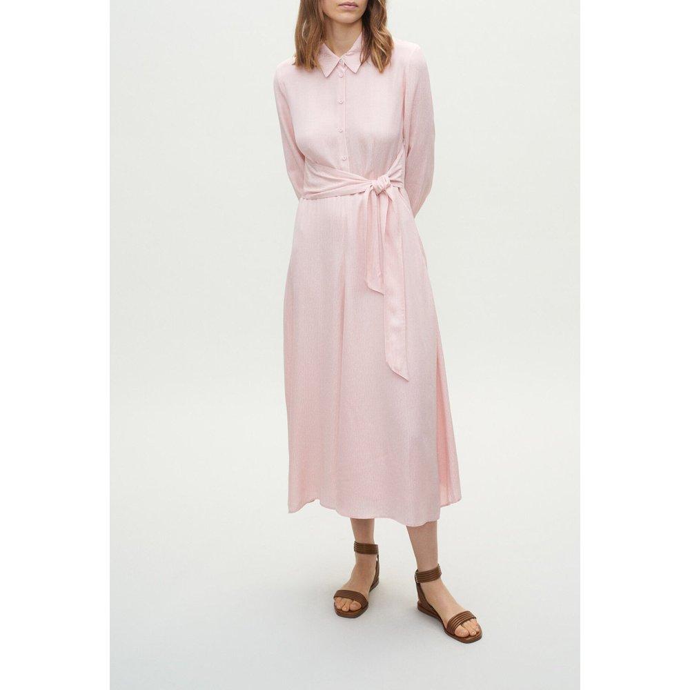 Robe chemise longue ceinturée - Claudie Pierlot - Modalova