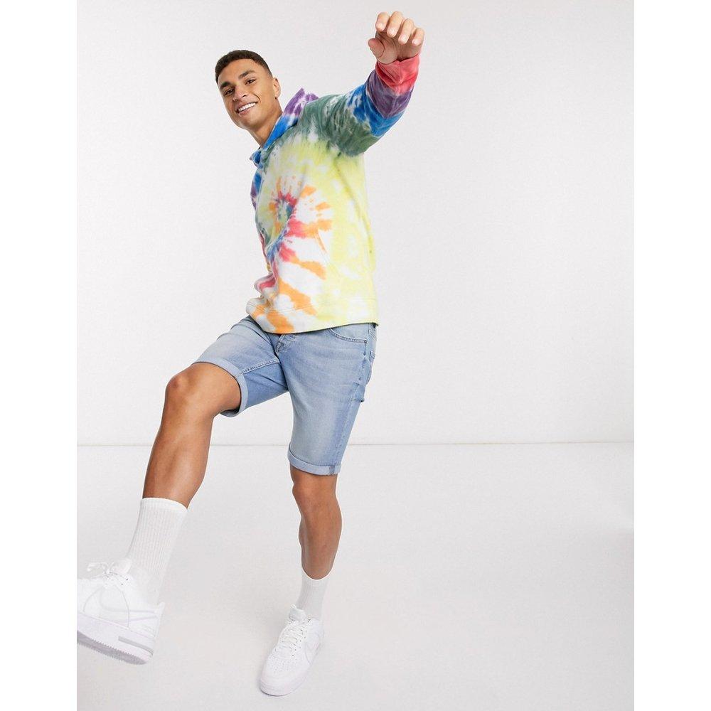 Pride - Hoodie effet tie-dye - Multicolore - Abercrombie & Fitch - Modalova