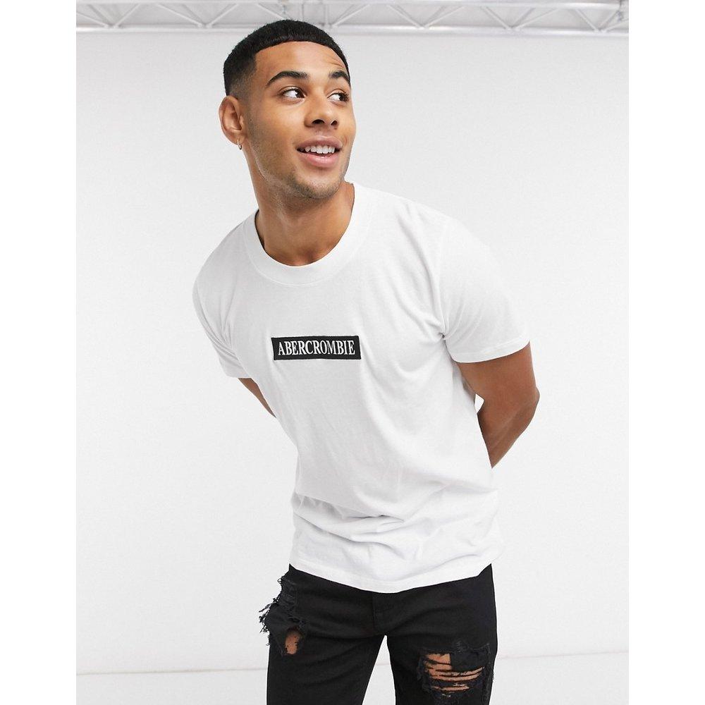 T-shirt avec logo encadré - Abercrombie & Fitch - Modalova