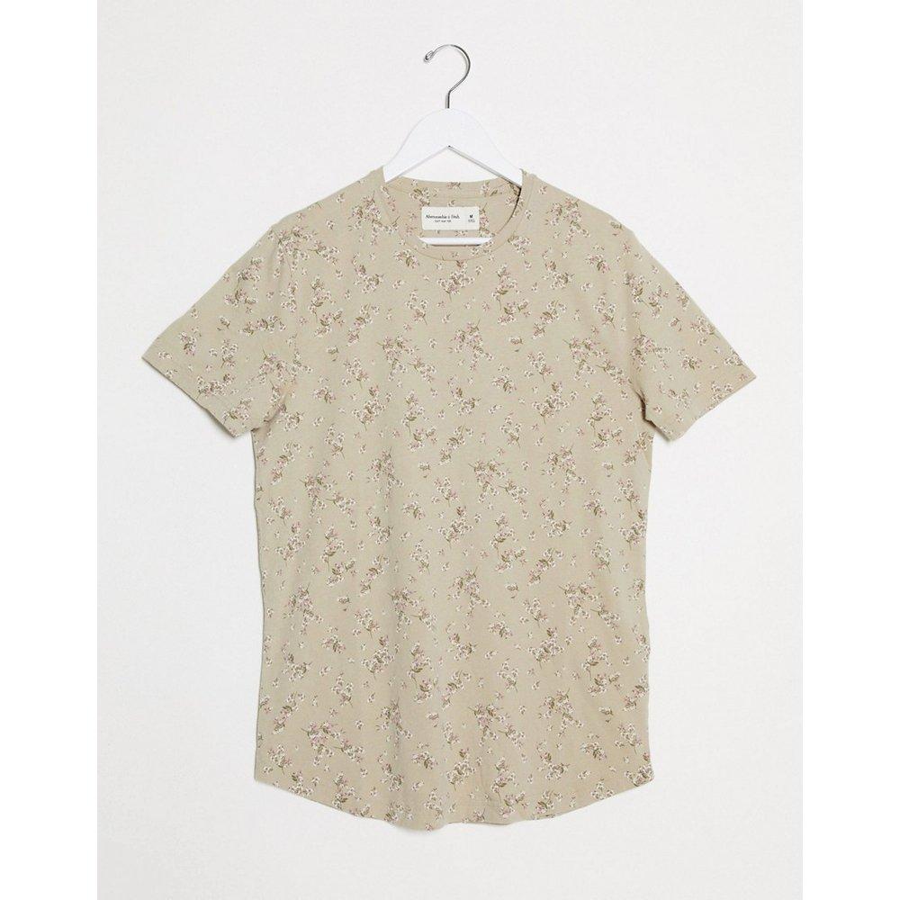 T-shirt avec logo floral - Abercrombie & Fitch - Modalova