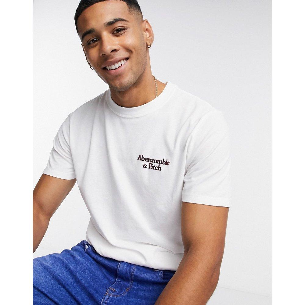 T-shirt avec logo imprimé dans le dos - Abercrombie & Fitch - Modalova