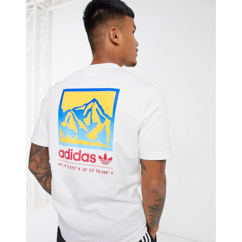 Adiplore - T-shirt avec imprimé au dos - adidas Originals - Modalova