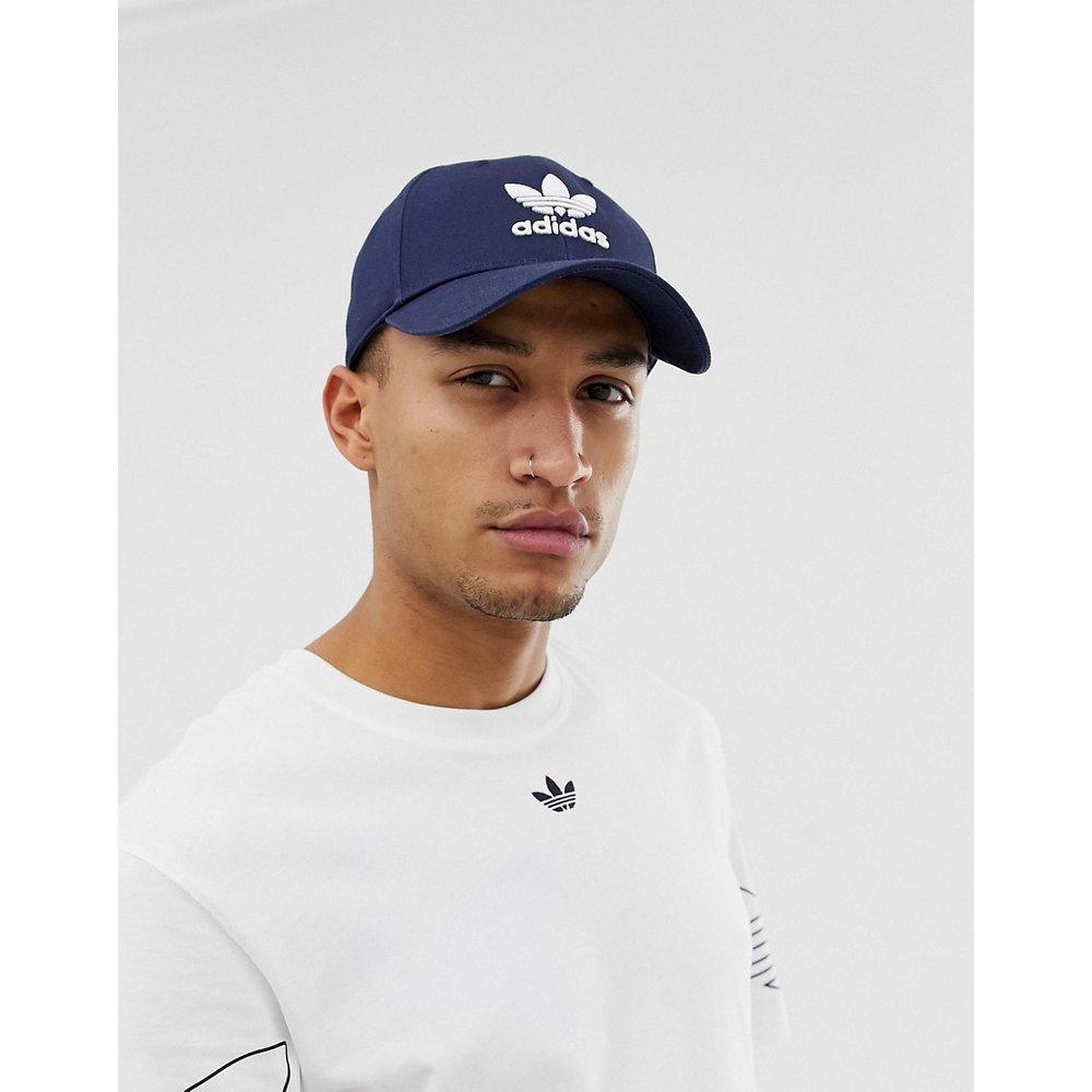 Casquette à logo trèfle - Bleu marine - adidas Originals - Modalova
