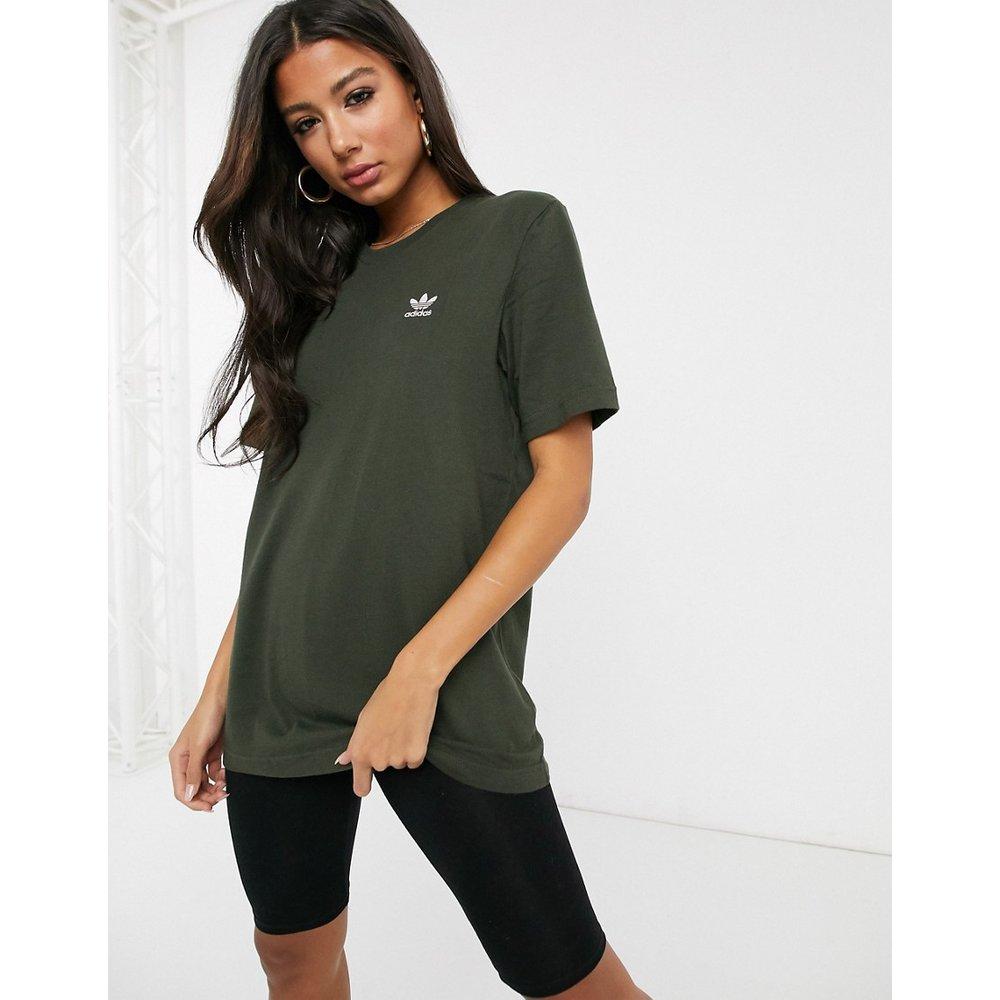Essential - T-shirt à petit logo - Kaki - adidas Originals - Modalova