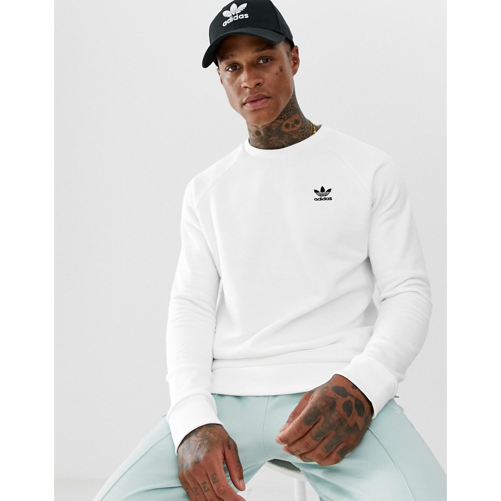 Essentials - Sweat-shirt avec petit logo - adidas Originals - Modalova