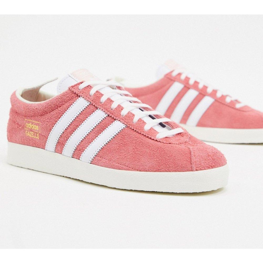 Gazelle - Baskets vintage - Rose - adidas Originals - Modalova