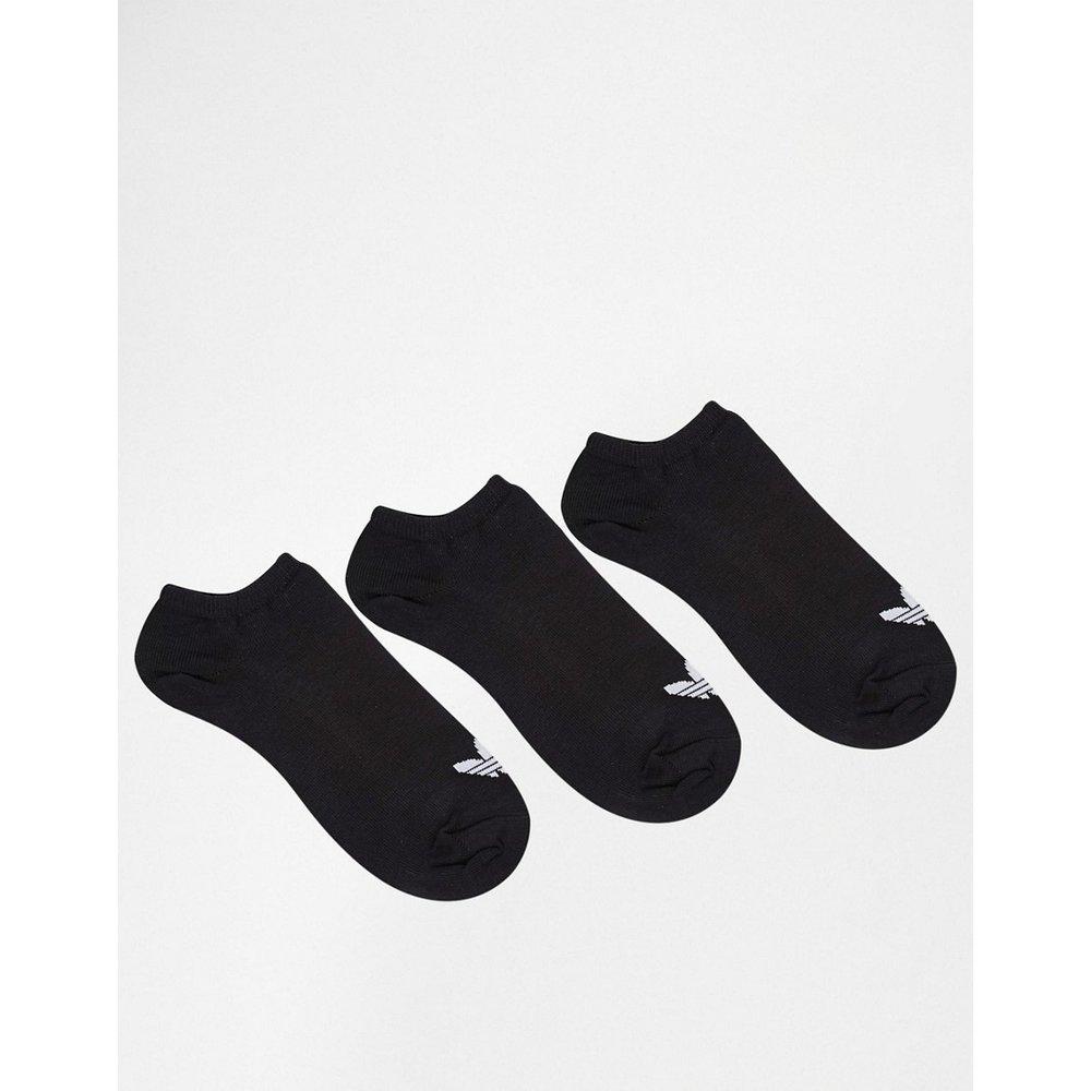 Lot de 3 paires de socquettes motif trèfle - adidas Originals - Modalova