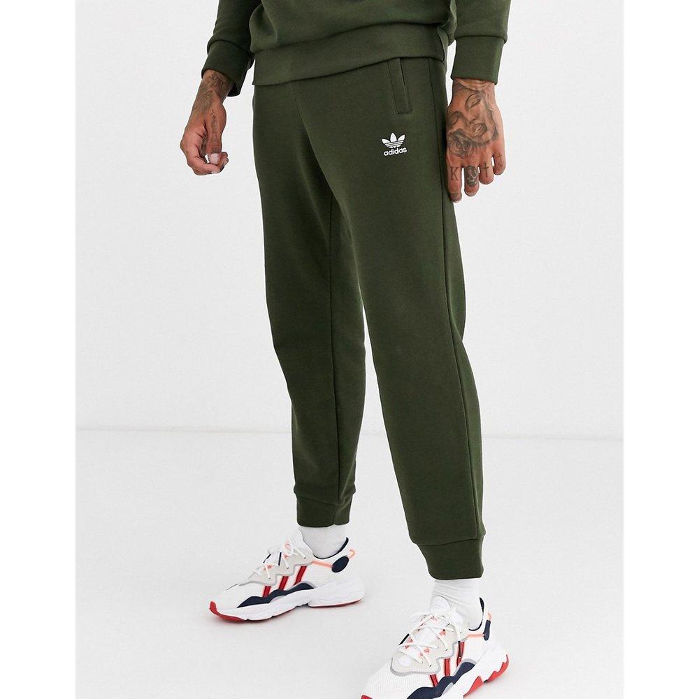 Pantalon de jogging avec logo brodé - Kaki - adidas Originals - Modalova