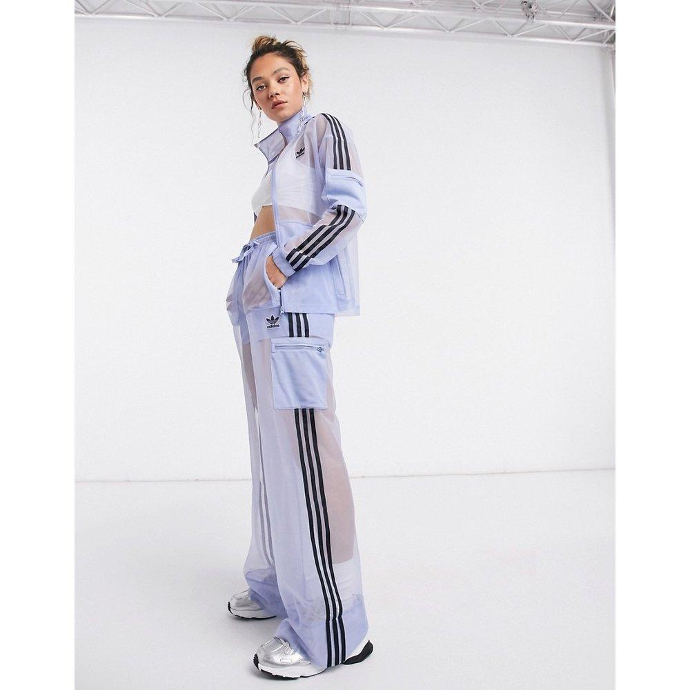 Pantalon de survêtement en tulle avec logo - adidas Originals - Modalova