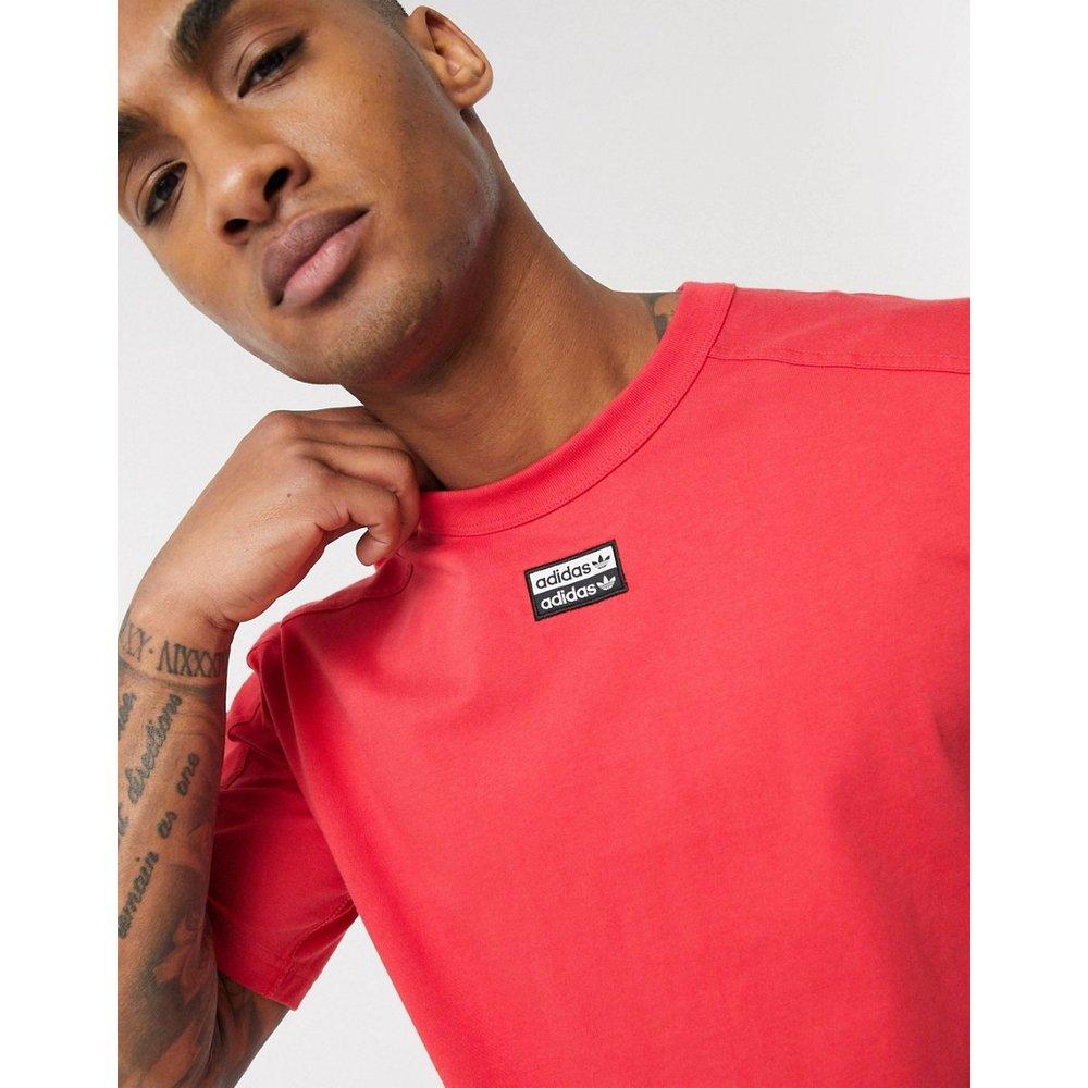 RYV - T-shirt avec logo central - Rouge - adidas Originals - Modalova