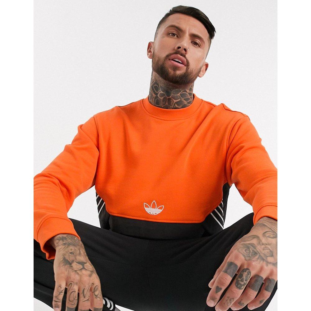 - Sweat-shirt avec motif trèfle au centre - adidas Originals - Modalova