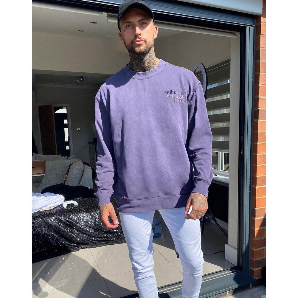 Sweat-shirt surteint de qualité supérieure avec logo sur la poitrine - adidas Originals - Modalova