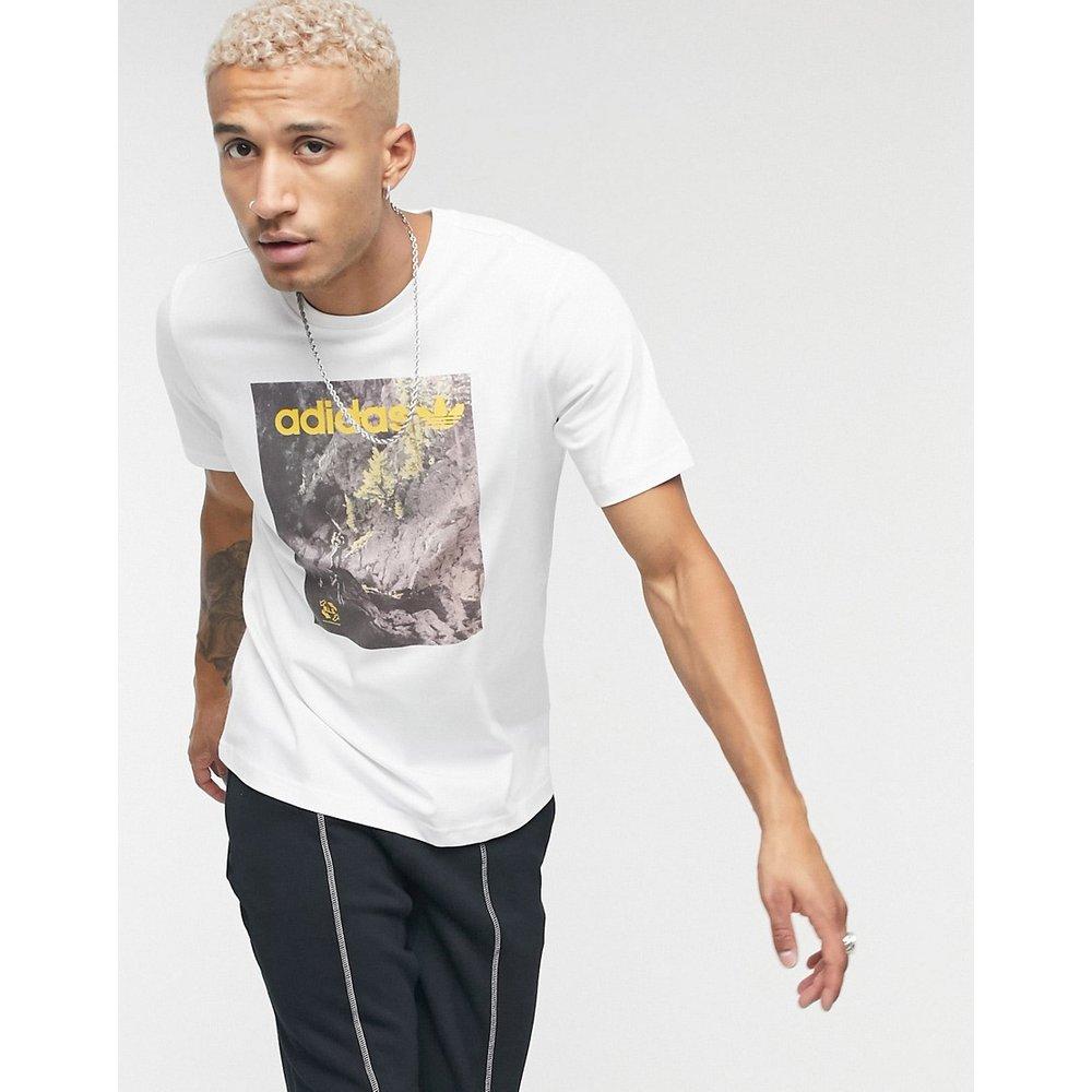T-shirt avec imprimé graphique aventure - adidas Originals - Modalova