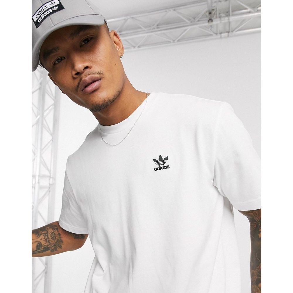 T-shirt avec imprimé trèfle au dos - adidas Originals - Modalova