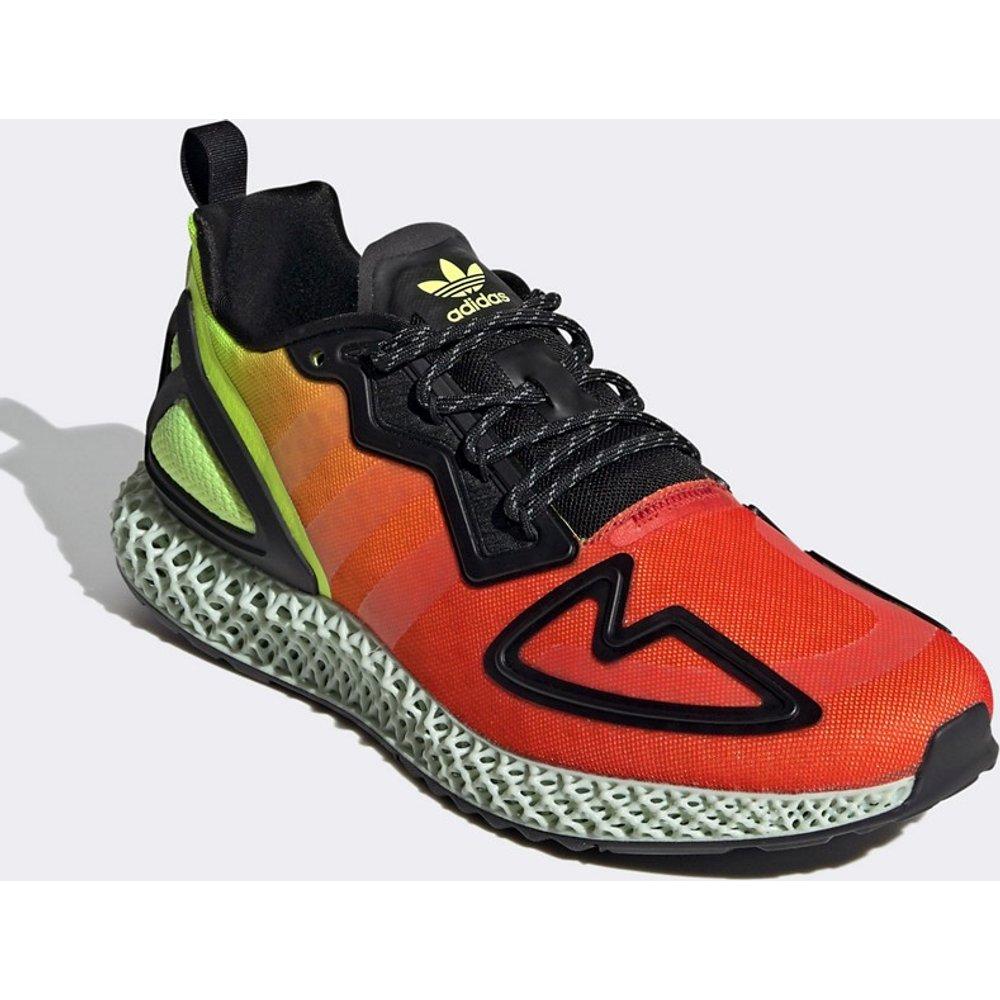 ZX - Baskets à détails 4D - Rouge et - adidas Originals - Modalova