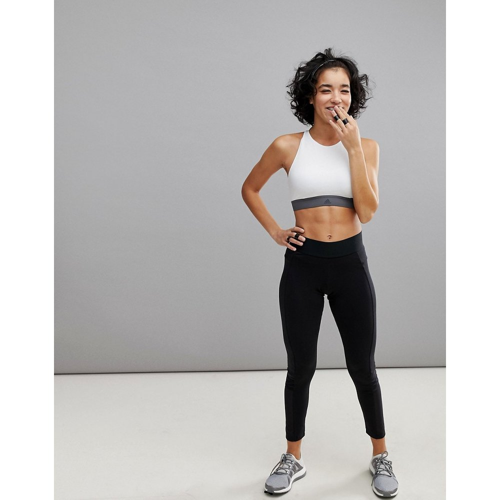 Adidas - Training Takeover - Leggings à empiècements en tulle - adidas performance - Modalova