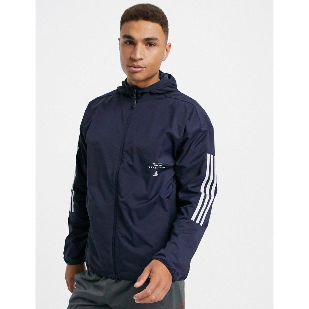 Veste à logo- Encre légendaire - Adidas - Modalova