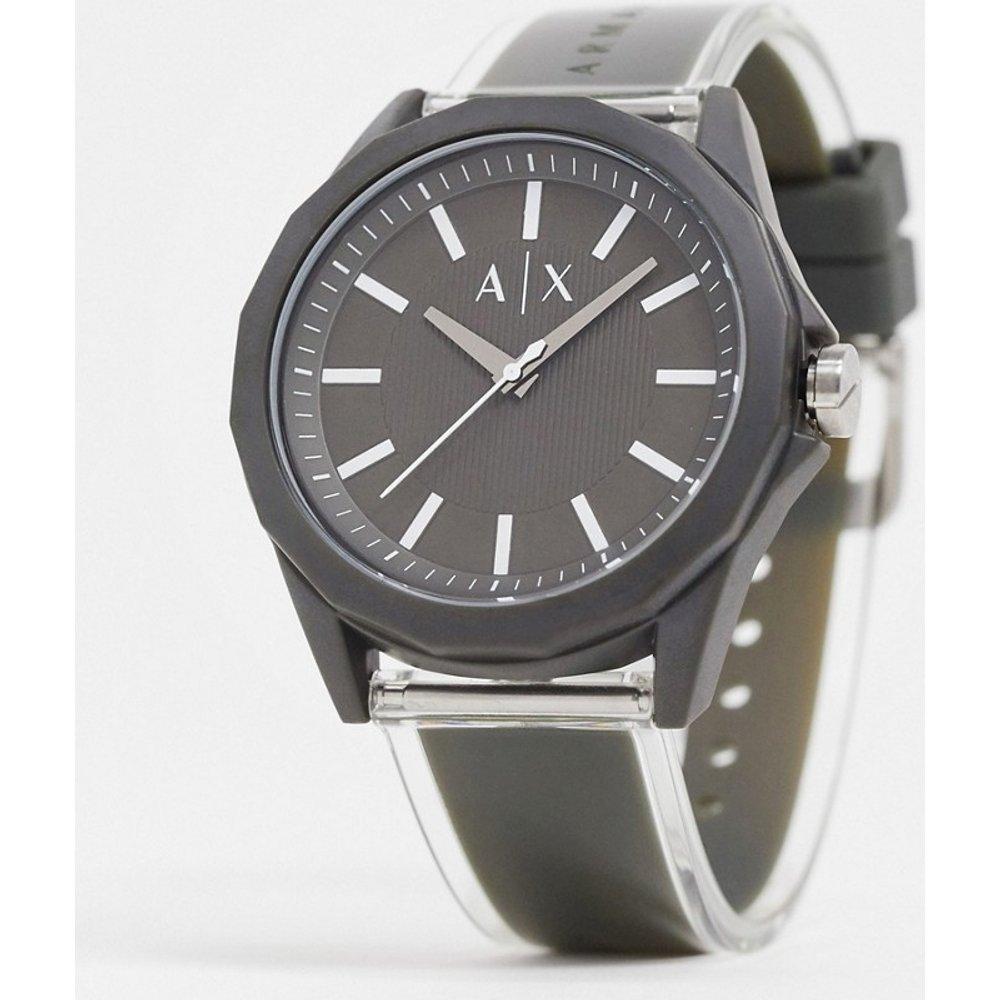 Drexler - AX2638 - Montre avec bracelet en cuir - Armani Exchange - Modalova