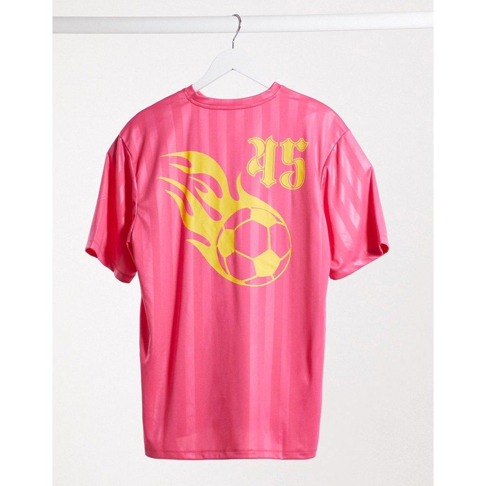 T-shirt de football avec imprimé dans le dos - ASOS 4505 - Modalova