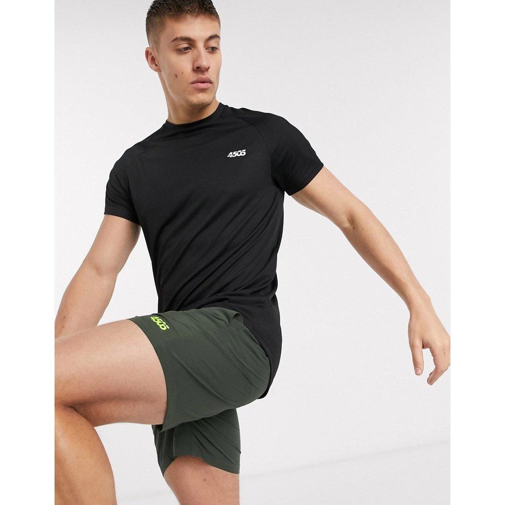 T-shirt de sport long à ourlet plongeant - ASOS 4505 - Modalova