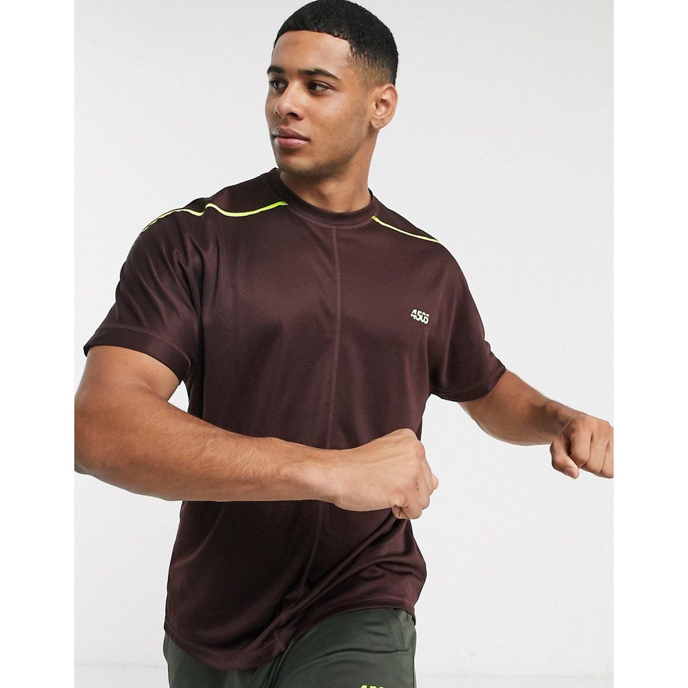 ASOS - 4505 - T-shirt de sport oversize à coutures fantaisie - ASOS 4505 - Modalova